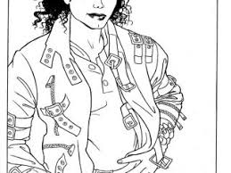 Michael Jackson Coloring Pages Printable