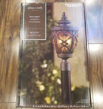 Allen Roth Outdoor Floor Lamp by Allen Roth Outdoor Lighting Ebay