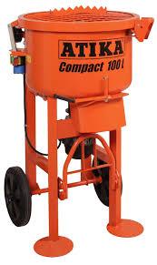 Ishii Tile Cutter Spares by Atika Compact 100ltr Pan Mortar Mixer Beton Tools