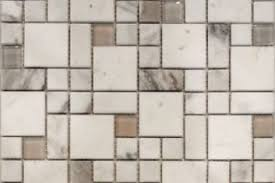 Sample Floor Tiles Image Collection Square Pattern White Carrara Marble Stone Glass