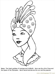 Greek Mythology Coloring Page For Kids And Adults From Mythical Creatures Pages