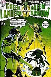 Green Lantern Vol 2 76 April 1970 Cover Art By Neal Adams