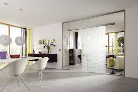 innentür mit glas wohnzimmer bad glastür innen