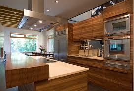 cuisine bois massif contemporaine cuisine contemporaine en inox en bois massif en bois lugi
