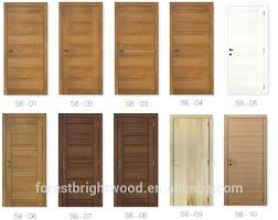 porte de chambre en bois modele porte en bois interieur porte bois moderne stunning porte