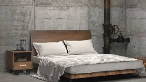 Industrial Style Bedroom Rustic Amazing Furniture Within