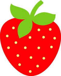 Strawberry clipart cute 4