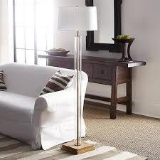 West Elm Overarching Floor Lamp by Clear Acrylic Column Floor Lamp
