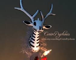 Diy Nightmare Before Christmas Tree Topper by Christmas Tree Topper Etsy