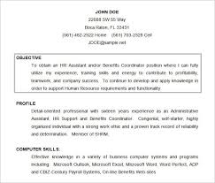 Sample Objective Resume Summary Examples Objectives For