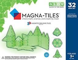 amazon com magna tiles glow 32 piece set by valtech since 1997