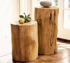 deco tronc d arbre décoration en bois 32 idées de réutiliser un tronc d arbre