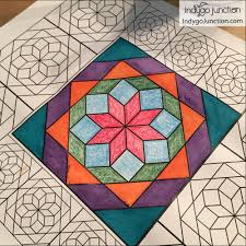 Vintage Notions Coloring Book Quilt Therapy