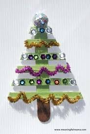 Childrens Christmas Ornament Crafts Ideas Day Tree Stick Craft 1 Sticks