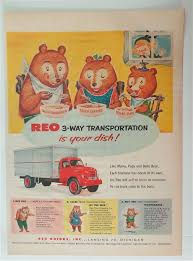 100 3 Way Trucking 195 REO Transportation With The Three Bears Trucks