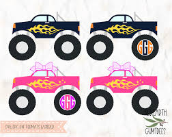 Monster Truck, Pink Monster Truck, Blue Monster Truck, Monstertruck ...