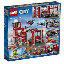 LEGO City Fire Station 60215 | Toyworld
