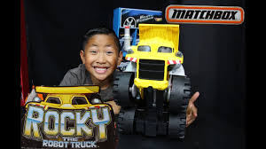 Rocky The Robot Truck - Matchbox Big Dump Truck - YouTube Matchbox Rocky The Robot Truck Sounds And Interactions Youtube 814pcs Double E C51014w 2 In 1 Rc Mixer Building Blocks Kits Does What Interactive By New Tobot Athlon Mini Rocky Transformer Excavator Car T Stinky Garbage Save 35 Today The Dump Toy Talking Mattel Pop Rides Deadpools Chimichanga Deadpool Catalog Funko 1903638801 Deluxe Walmartcom Paw Patrol Sea Light Up Teenage Mutant Ninja Turtles