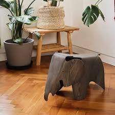 vitra eames elephant plywood esche grau gebeizt 75 jubiläums edition