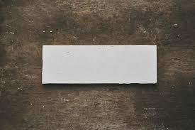 2x6 reclaimed white subway tile provenance