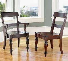 Pottery Barn Monetgo Wood Seat Chair Look 4 Less