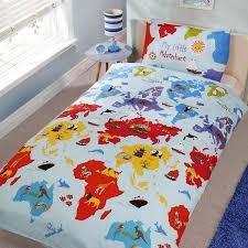 My Little Pony Bed Set by Girls Single Duvet Cover Sets Bedding Unicorn Flower Horse Heart