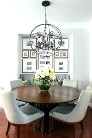 Transitional Dining Room Chandelier