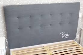 fabriquer une tete de lit capitonn comment capitonnee digpres