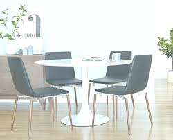 Dining Room Sets White Contemporary Table Round Furniture Small Pedestal Corner Extension