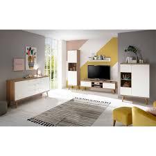 scandi möbel set für wohnzimmer cablos 5 teilig