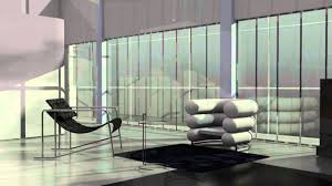 Bibendum Chair Eileen Grey by Animation Of The E 1027 House By Eileen Gray Youtube