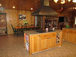 Log Cabin Kitchen Island Ideas by Exterior Design Satterwhite Log Homes With Ceiling Beams And