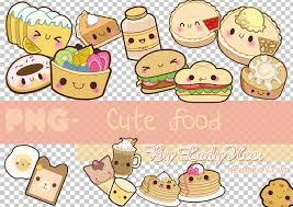 PNG Cute Food By LadyHee On DeviantArt