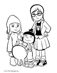 Margo Despicable Me Coloring Pages