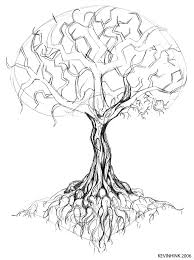Oak Tree Tattoo Sketch By Kevinhink Art Design With Hatefulss
