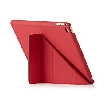 Pipetto iPad Pro 12.9 Case - Origami Smart Cover - Red (Compatible with iPad Pro 12.9 inch)