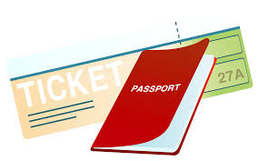 Ticket And Passport PNG Clipart Image