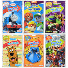 Bendon Licensed Character Grab Go Play Packs