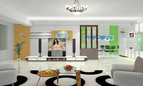 3D Modern House Living Dining Room Partition China Interior Design For Divider