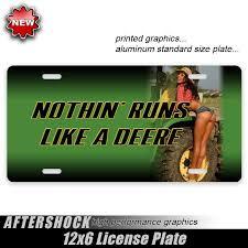 100 Truck Decals For Girls John Deere Tractor Girl Plate Aftershock
