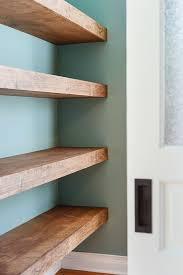 Free Woodworking Plans Floating Shelves by Best 25 Floating Shelves Bathroom Ideas On Pinterest Bathroom