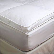 Mattress Pads & Feather Beds in Type Feather Bed Size Twin