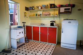 Kitchen In A Beach House From The Fifties Auckland 1002 Kitchens 1950s