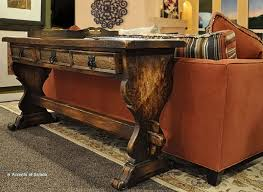 Console Table Design High End Tables Rectangle Rustic Solid Wooden With Drawer And Merge Legs