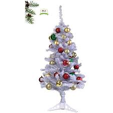 Fiber Optic Christmas Decorations Sale Best Of Ideas Prestige 4ft Artificial Snow White Tree With Stand Xmas