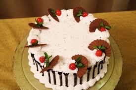 Eggless Ebony & Ivory Cake Fresh Cream Cake Easy Icing