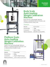 100 Truck Weights Weight Scale Machine 4000kg Scale Calibration For Load