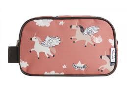 trousse de toilette fillette premier trousses de toilette unicorn licornes finition