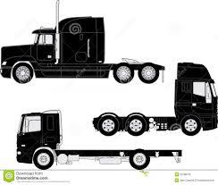 100 Best Semi Truck Silhouette Vector LaztTweet