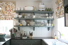 Open Shelves in the Kitchen Overload